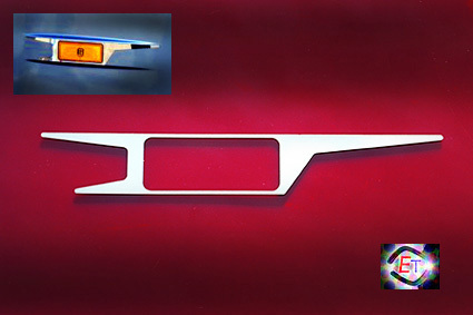 Border Light Frames Actros MP5, MP4 - 2pcs