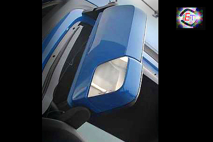 Mirror Plates Actros MP5, MP4 - 2pcs