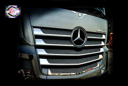 Grill Profiles Actros MP5, MP4 (Big, Giga 2,5) - 10 parts