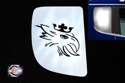 Window Plates Griffin for Streamline - 2 pcs