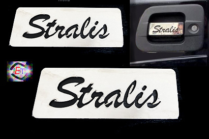 Handle Covers Stralis for Cube, Hi Way, XP - 2 pcs